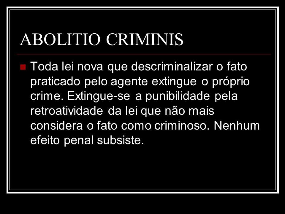 ABOLITIO CRIMINIS