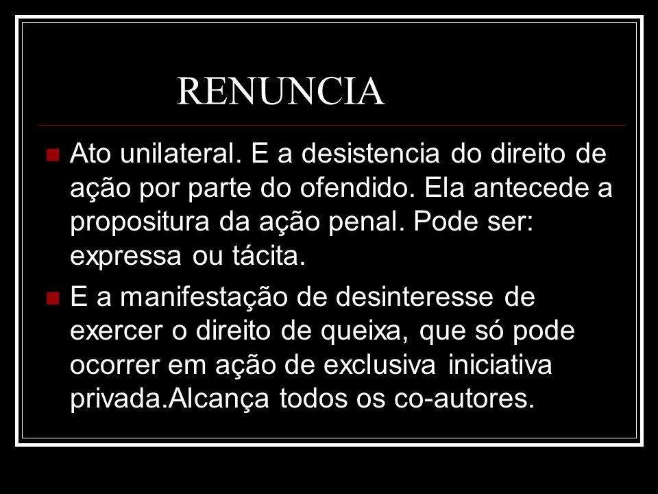 RENUNCIA