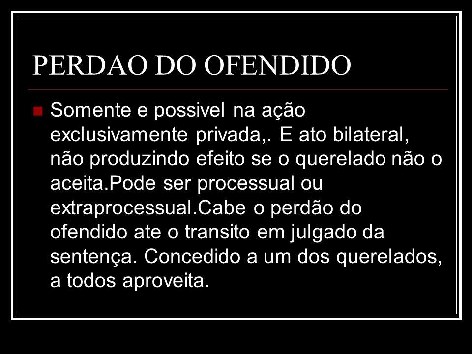 PERDAO DO OFENDIDO
