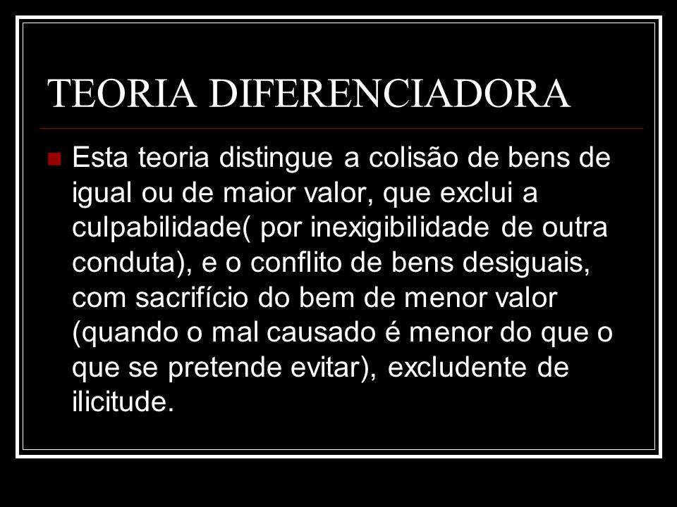 TEORIA DIFERENCIADORA