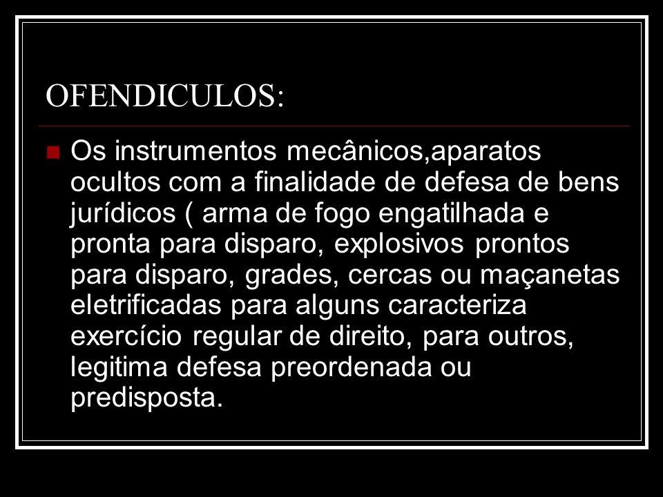 OFENDICULOS: