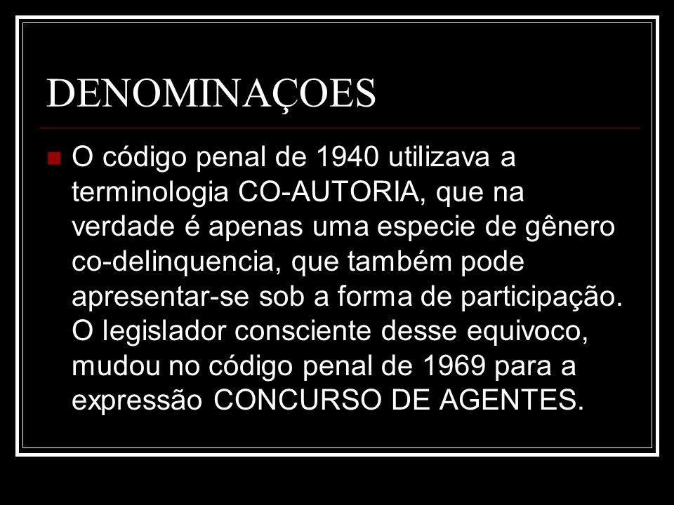 DENOMINAÇOES