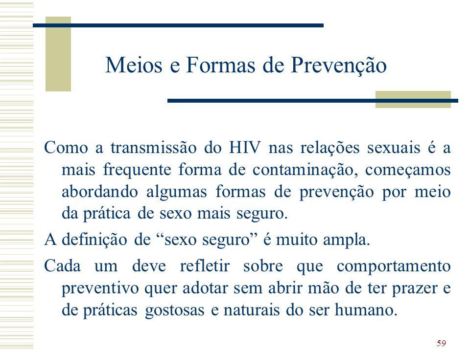 Meios e Formas de Prevenção