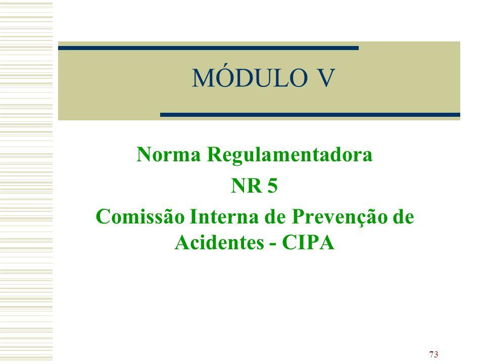 MÓDULO V Norma Regulamentadora NR 5
