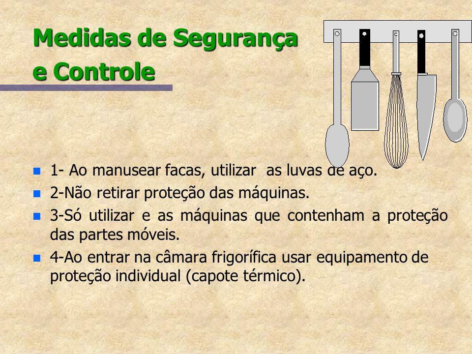 Medidas de Segurança e Controle
