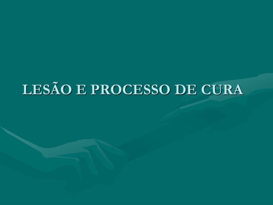 LESÃO E PROCESSO DE CURA