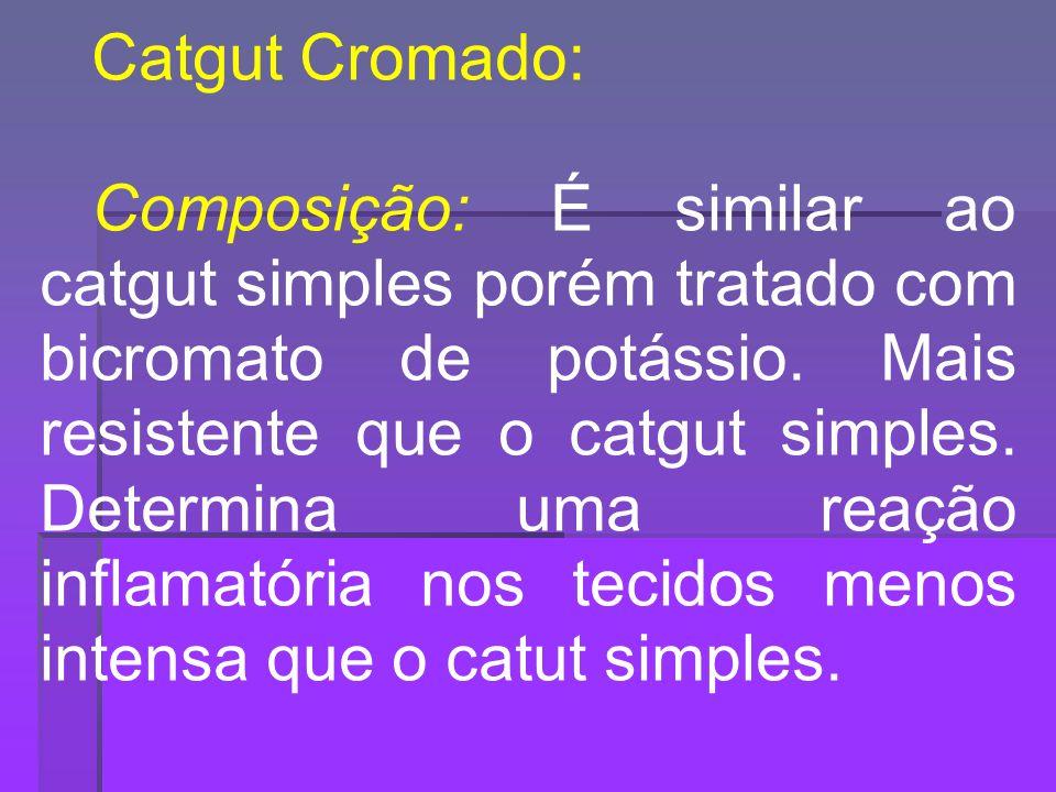 Catgut Cromado: