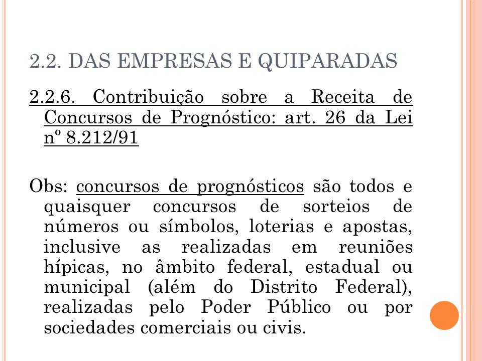 2.2. DAS EMPRESAS E QUIPARADAS