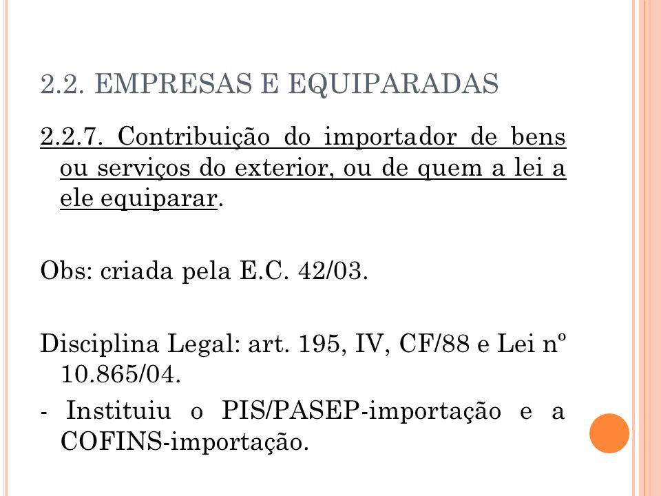 2.2. EMPRESAS E EQUIPARADAS