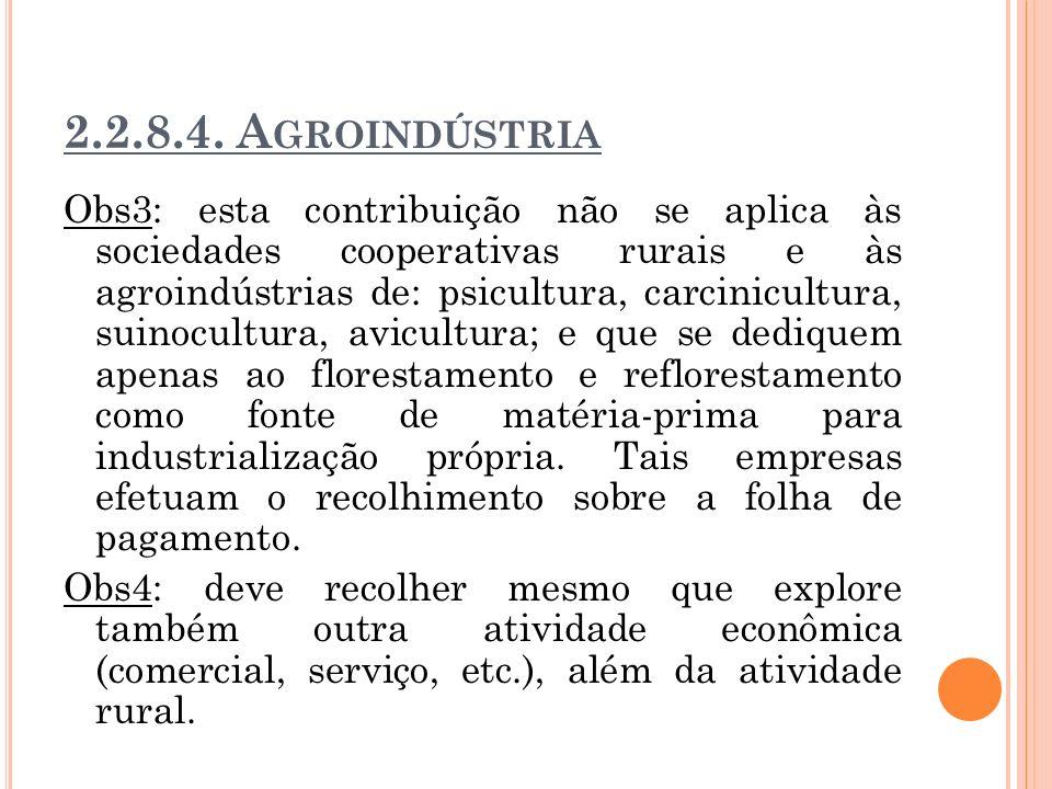 2.2.8.4. Agroindústria