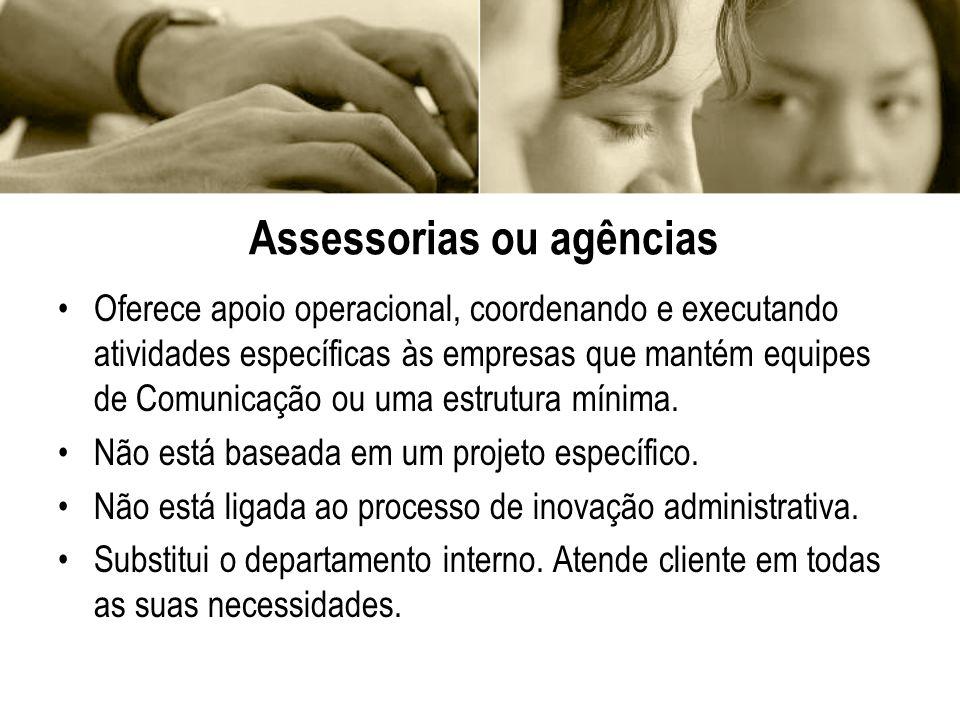 Assessorias ou agências