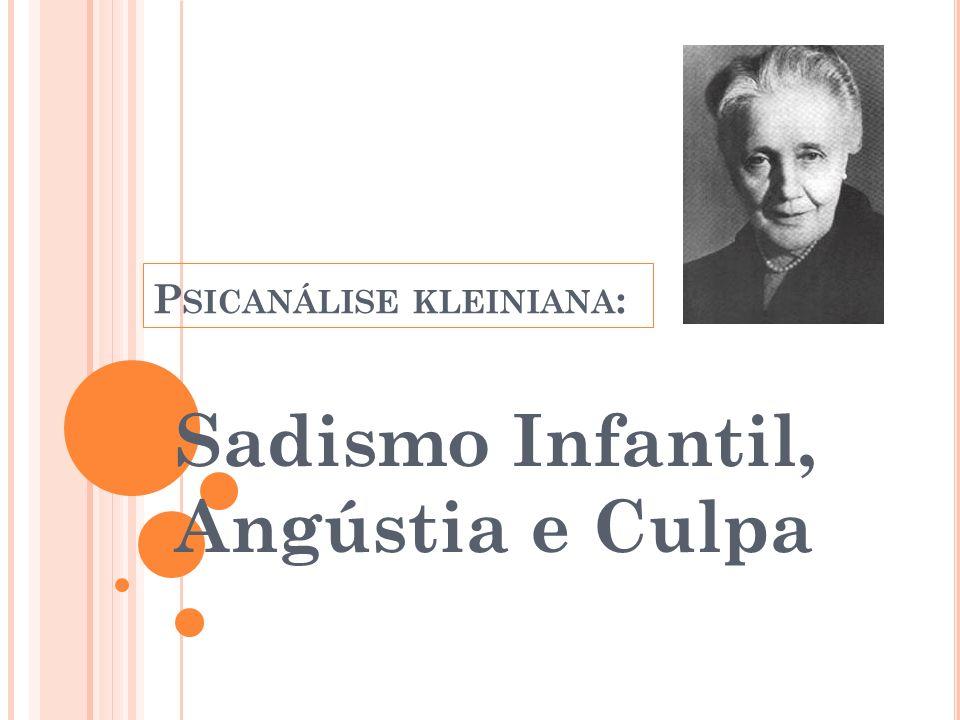 Psicanálise kleiniana: