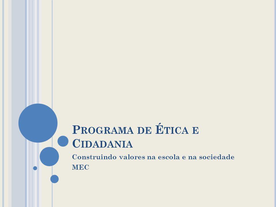 Programa de Ética e Cidadania