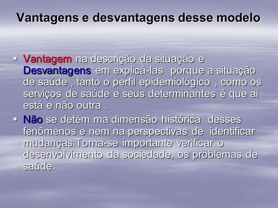 Vantagens e desvantagens desse modelo