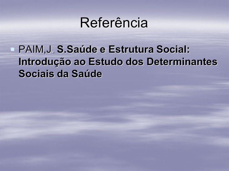 ReferênciaPAIM,J.