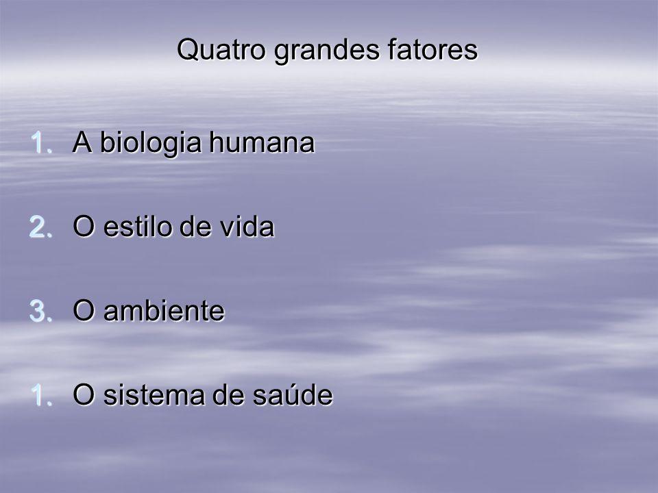 Quatro grandes fatores