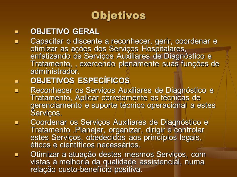 Objetivos OBJETIVO GERAL