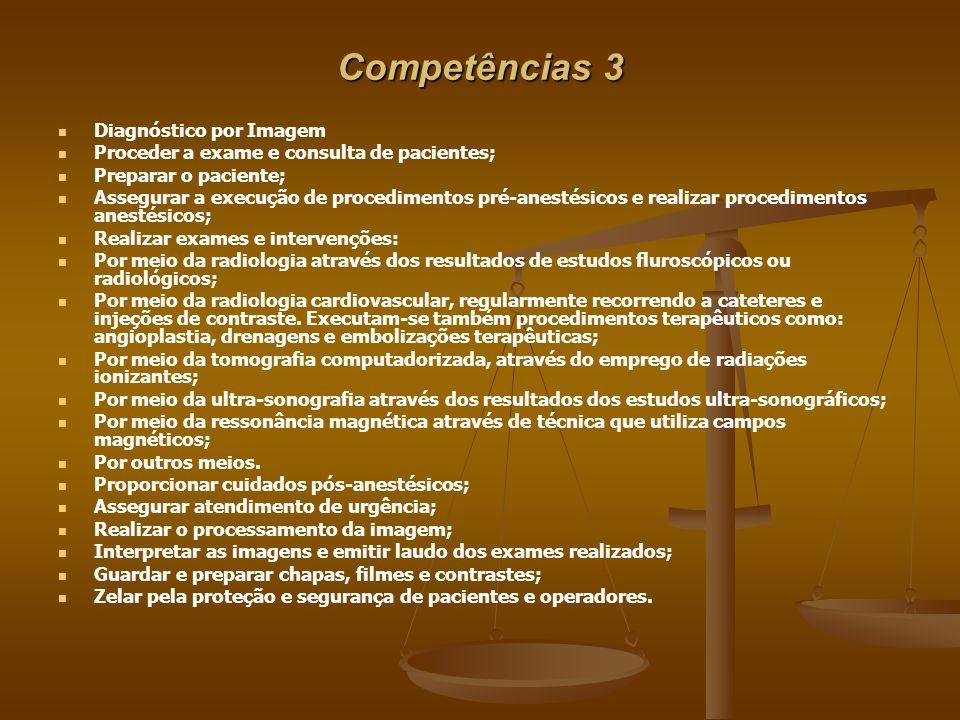 Competências 3 Diagnóstico por Imagem
