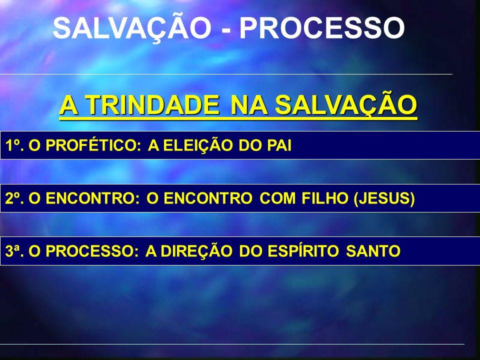SALVAÇÃO - PROCESSO A TRINDADE NA SALVAÇÃO