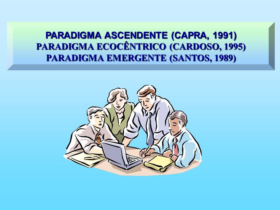 PARADIGMA ASCENDENTE (CAPRA, 1991)