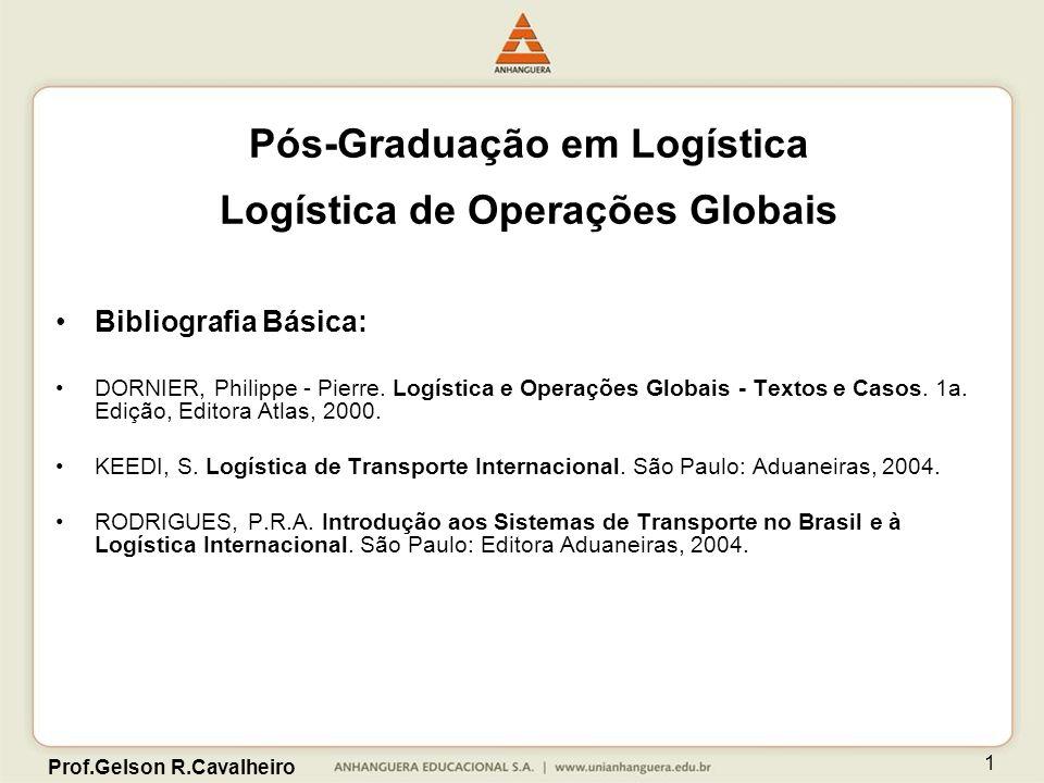 Pós-Graduação em Logística Logística de Operações Globais