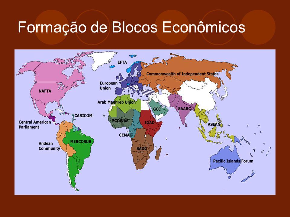 Formação de Blocos Econômicos