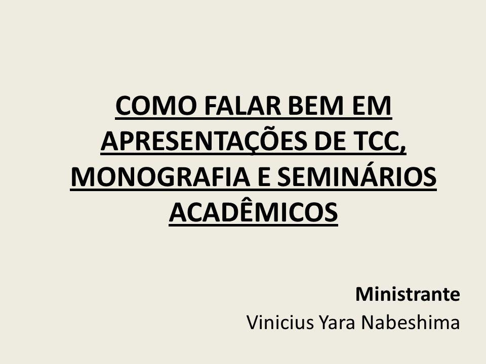 Ministrante Vinicius Yara Nabeshima