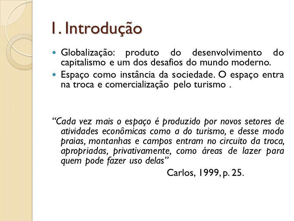 1. Introdução Globalização: produto do desenvolvimento do capitalismo e um dos desafios do mundo moderno.