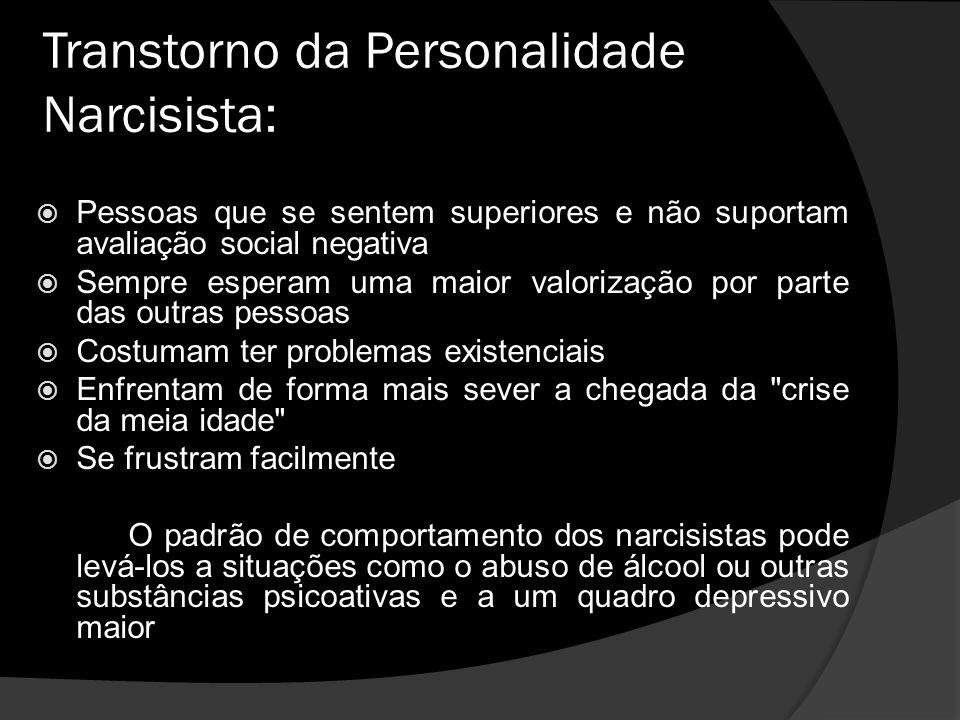 Transtorno da Personalidade Narcisista: