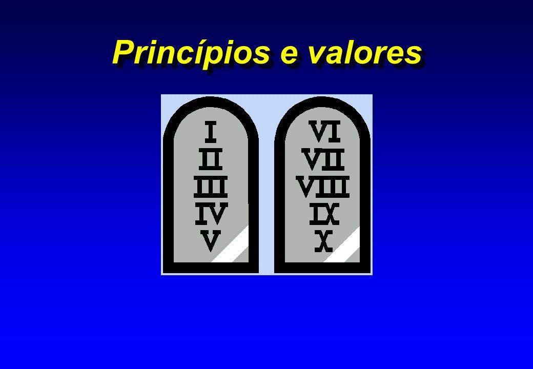 Princípios e valores