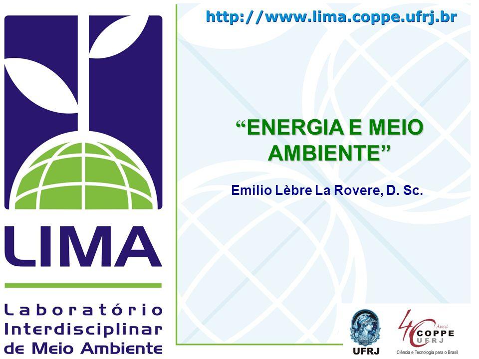 ENERGIA E MEIO AMBIENTE Emilio Lèbre La Rovere, D. Sc.