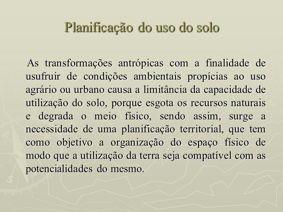Planificação do uso do solo