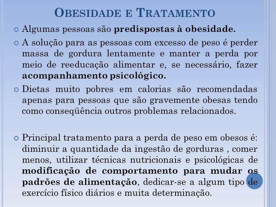 Obesidade e Tratamento