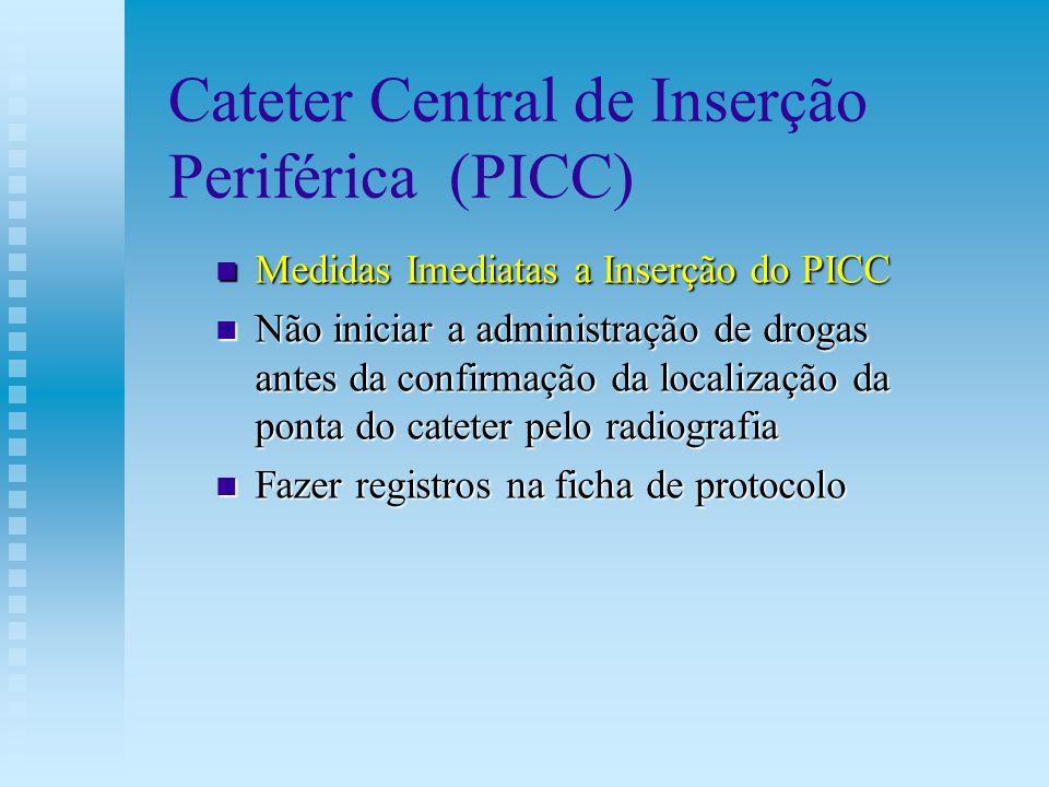 Cateter Central de Inserção Periférica (PICC)