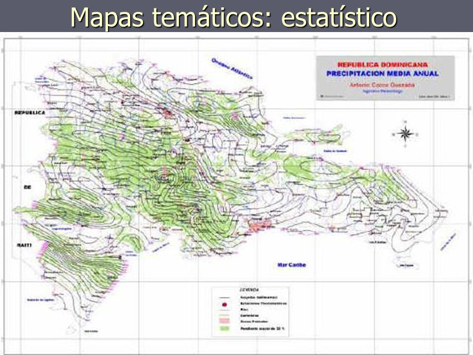 Mapas temáticos: estatístico