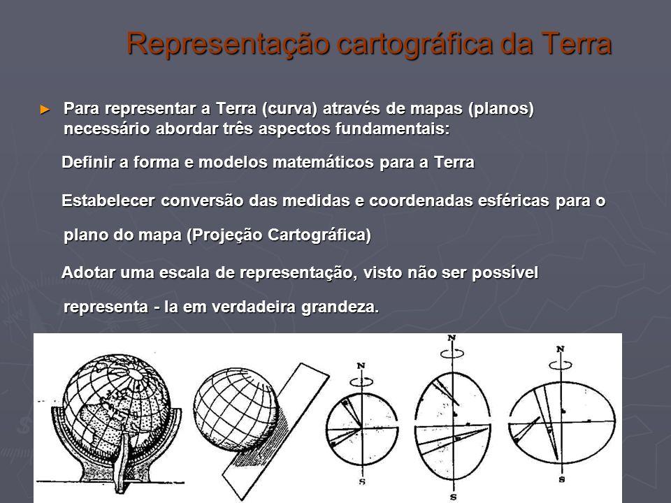 Representação cartográfica da Terra