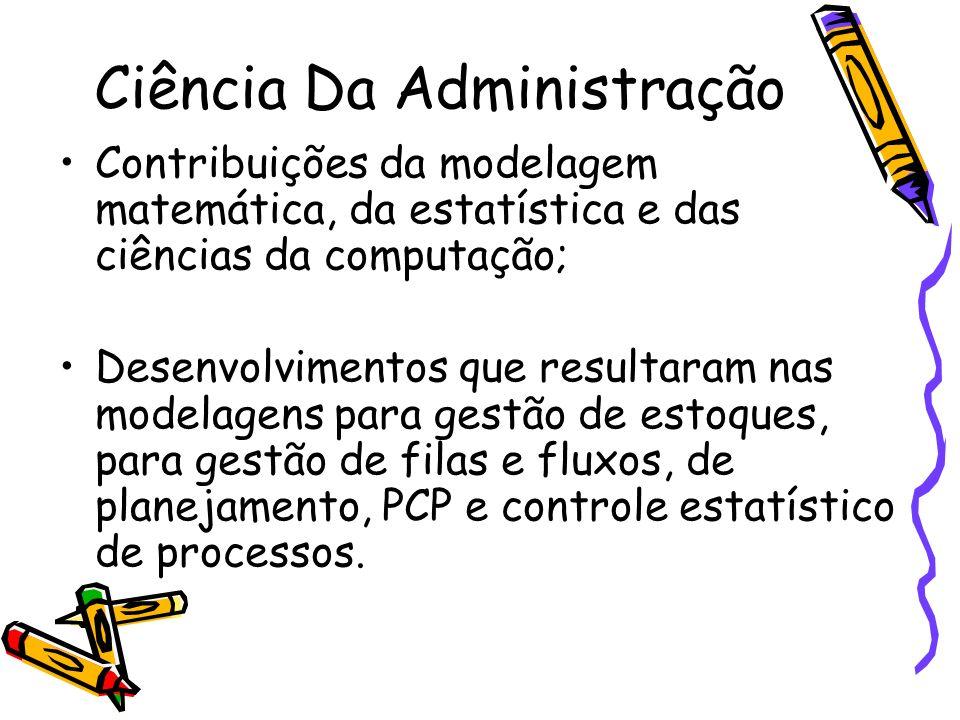 Ciência Da Administração