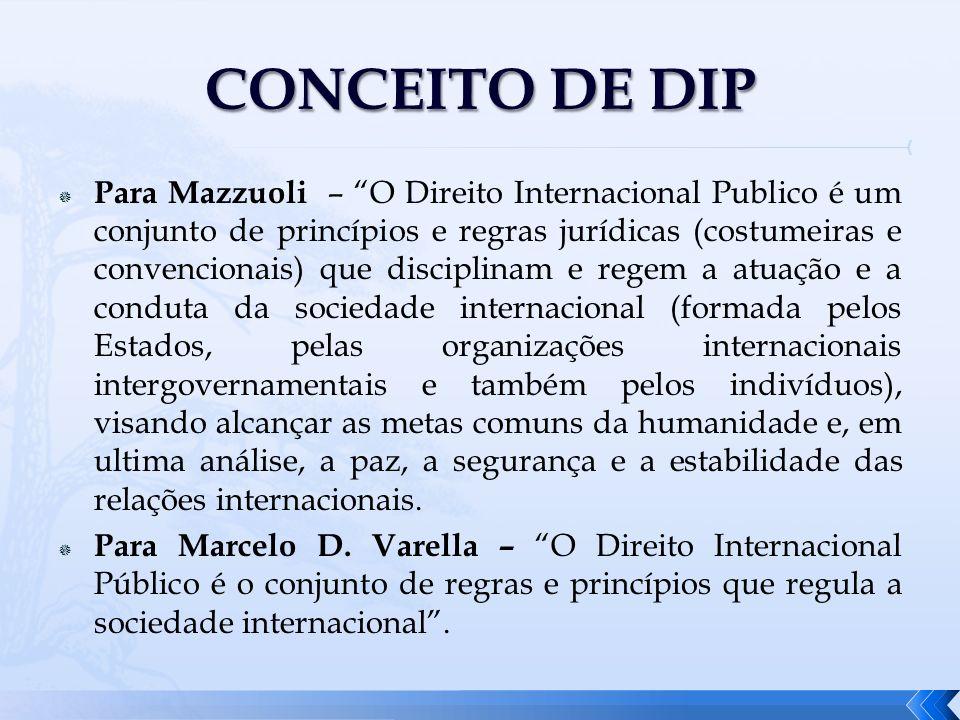 CONCEITO DE DIP