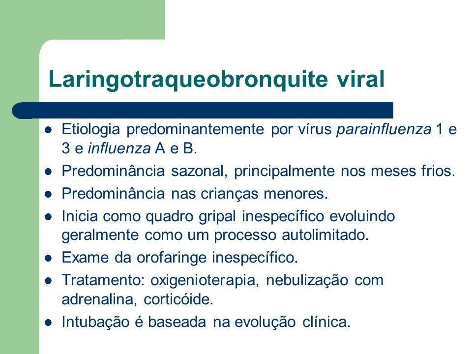 Laringotraqueobronquite viral