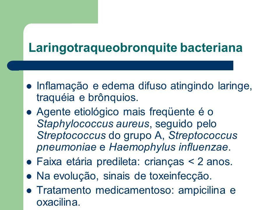 Laringotraqueobronquite bacteriana