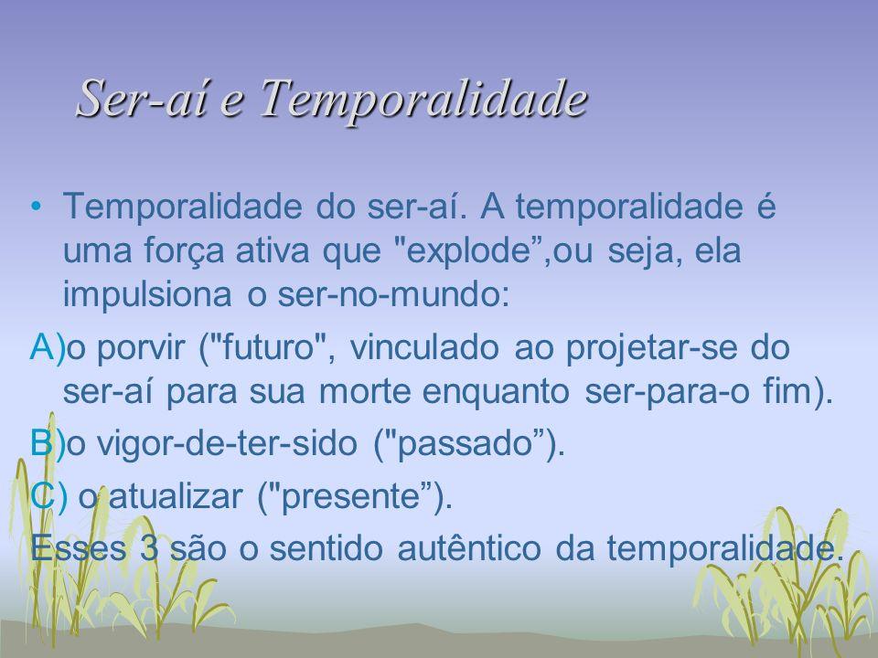 Ser-aí e Temporalidade