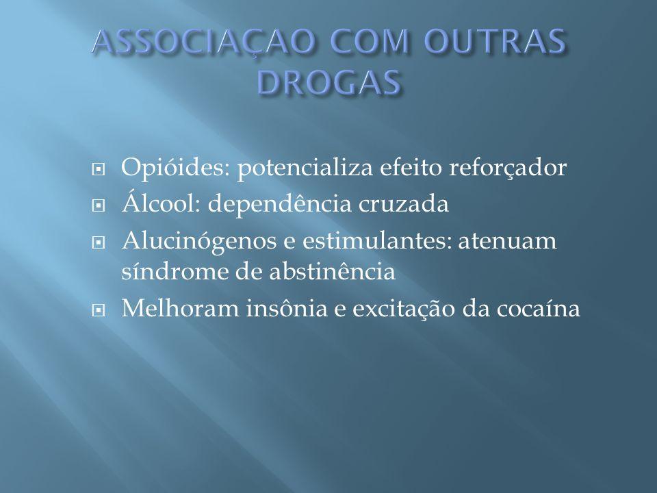 ASSOCIAÇAO COM OUTRAS DROGAS