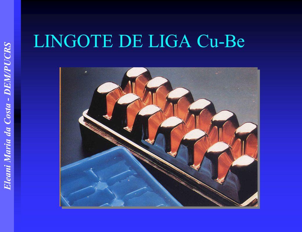LINGOTE DE LIGA Cu-Be