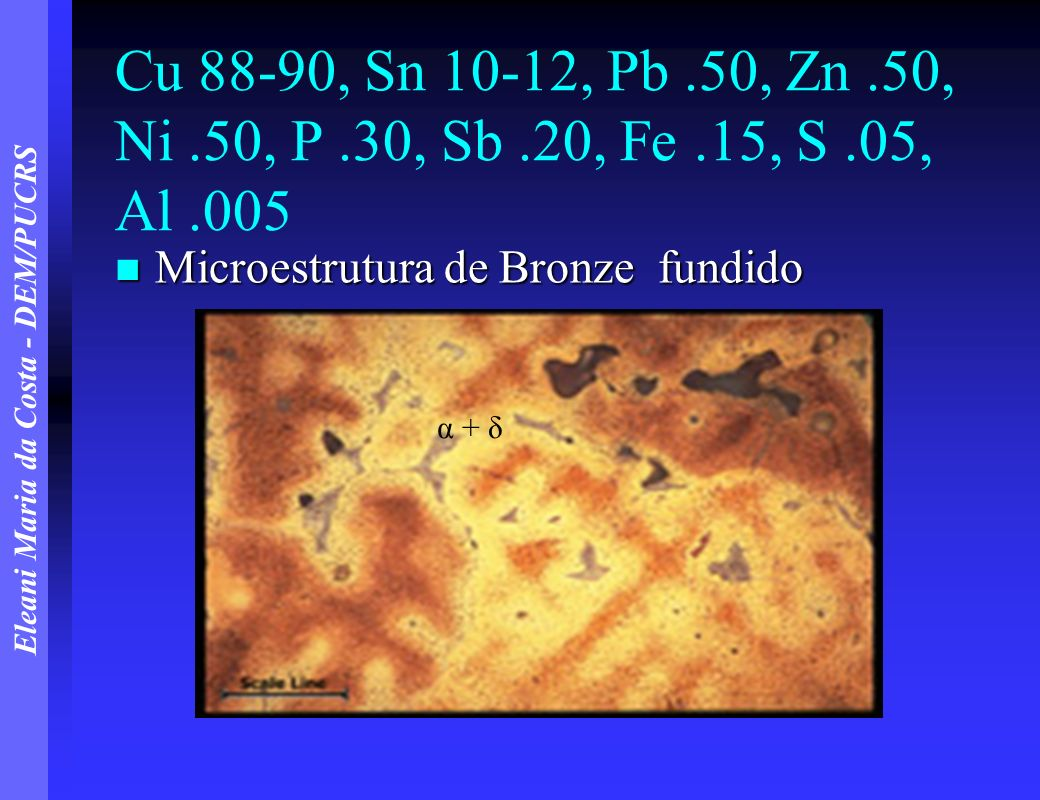 Cu 88-90, Sn 10-12, Pb .50, Zn .50, Ni .50, P .30, Sb .20, Fe .15, S .05, Al .005