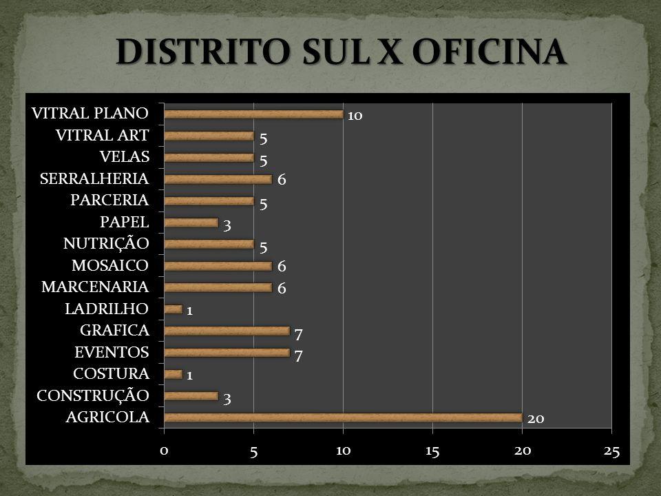 DISTRITO SUL X OFICINA