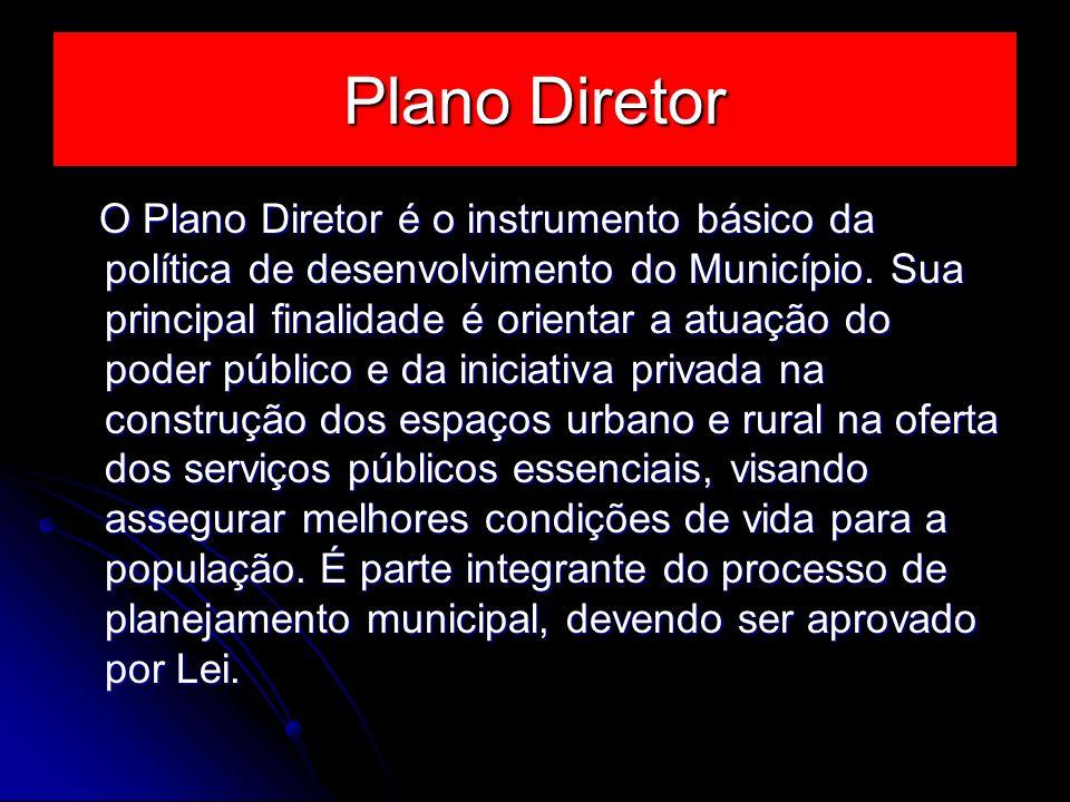 Plano Diretor
