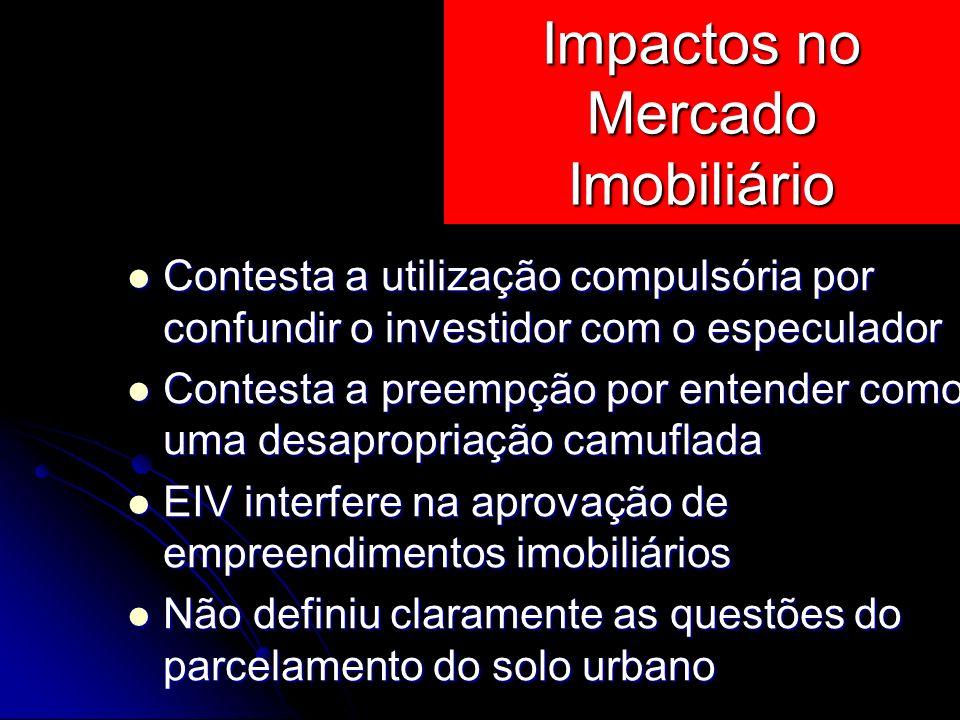 Impactos no Mercado Imobiliário