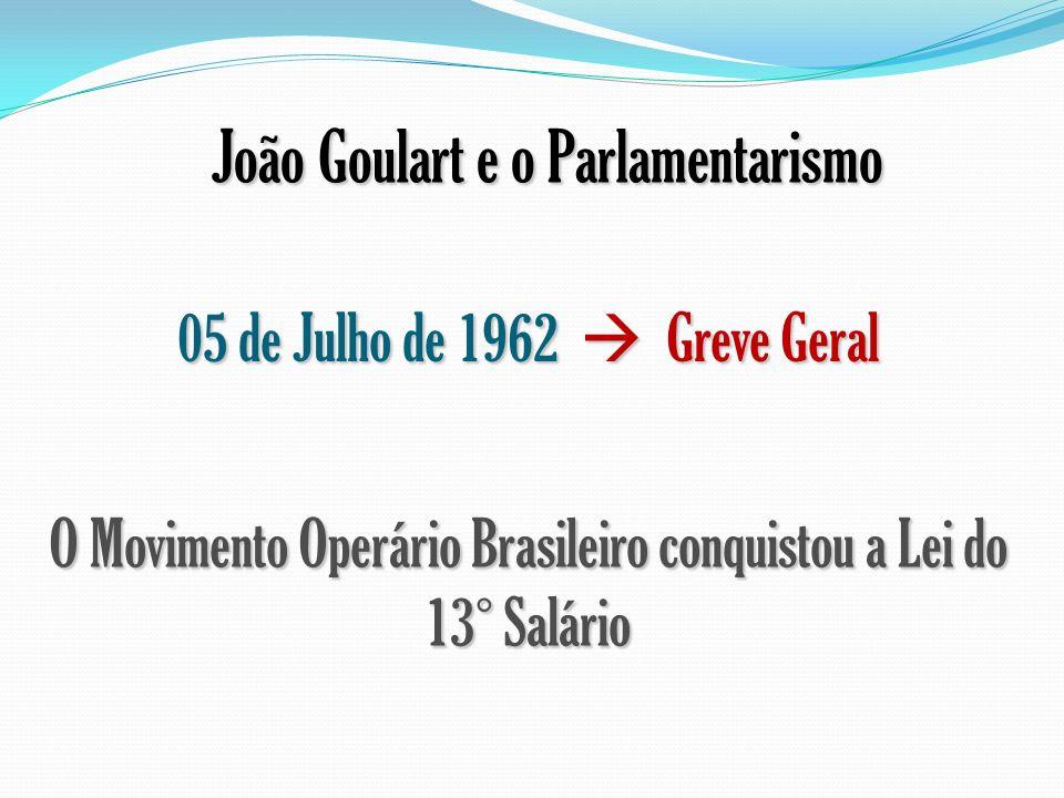 João Goulart e o Parlamentarismo