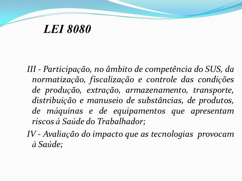 IV - Avaliação do impacto que as tecnologias provocam à Saúde;