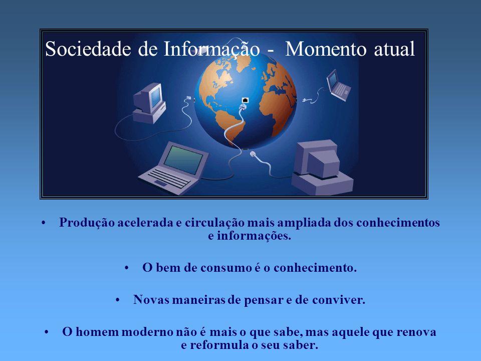 Sociedade de Informação - Momento atual
